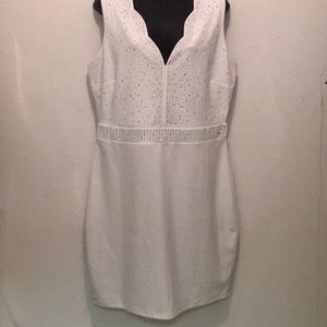 Dresses & Skirts - Rhinestone mini bodycon dress